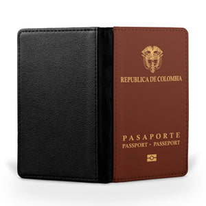 Colombia Passport Designed Passport & Travel Cases