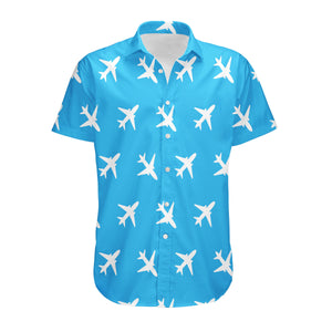 Continues Airplanes Designed 3D Shirts