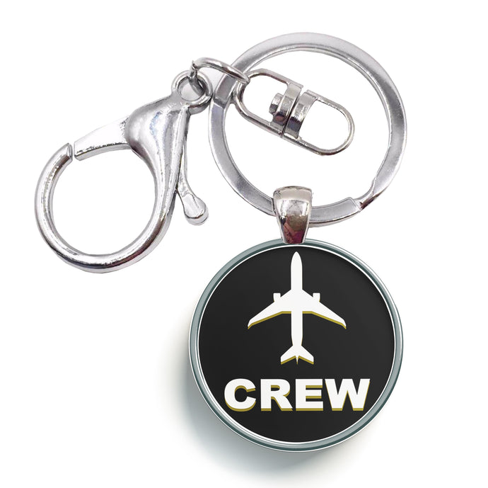 Crew & Circle Designed Circle Key Chains