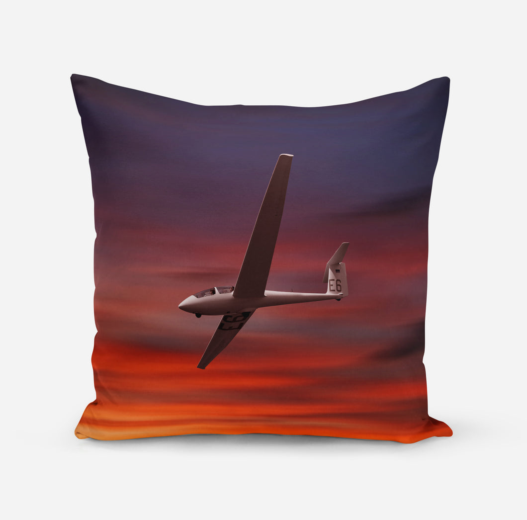 Cruising Glider at Sunset Printed iPhone Cases