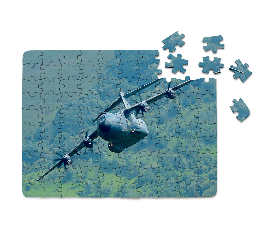 Cruising Airbus A400M Printed Puzzles Aviation Shop