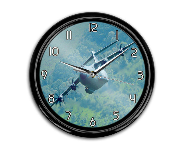 Cruising Airbus A400M Printed Wall Clocks Aviation Shop