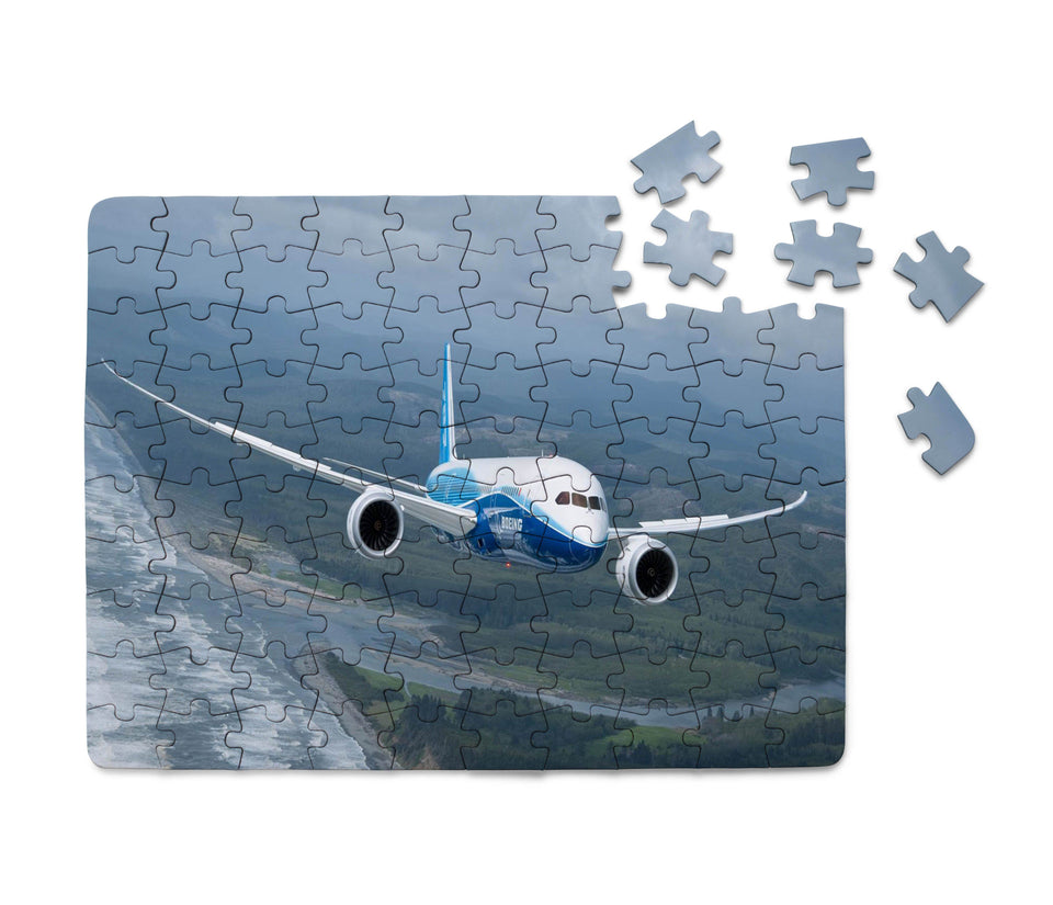 Cruising Boeing 787 Printed Puzzles Aviation Shop
