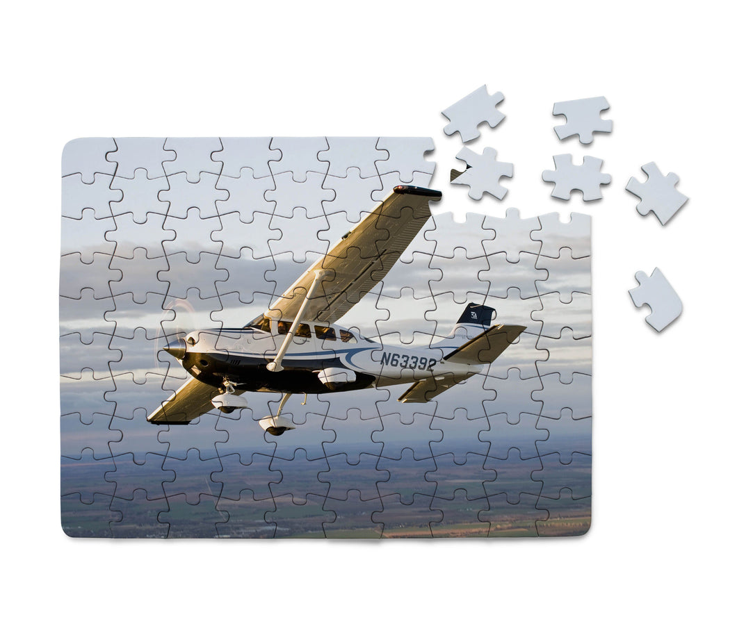 Cruising Cessna Printed Puzzles Aviation Shop