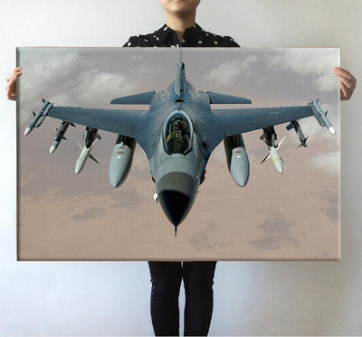 Cruising Fighting Falcon F16 Printed Posters