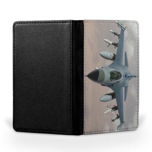 Cruising Fighting Falcon F16 Printed Passport & Travel Cases