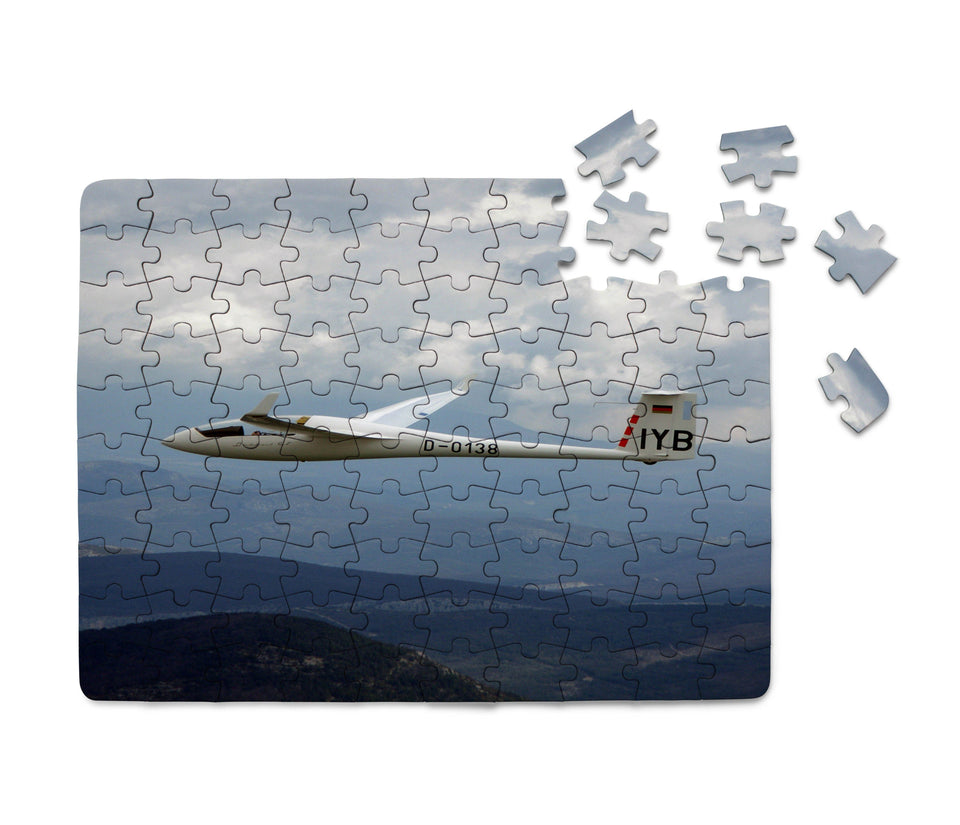 Cruising Glider Printed Puzzles Aviation Shop