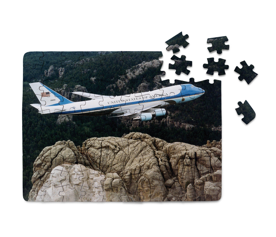 Cruising United States of America Boeing 747 Printed Puzzles Aviation Shop