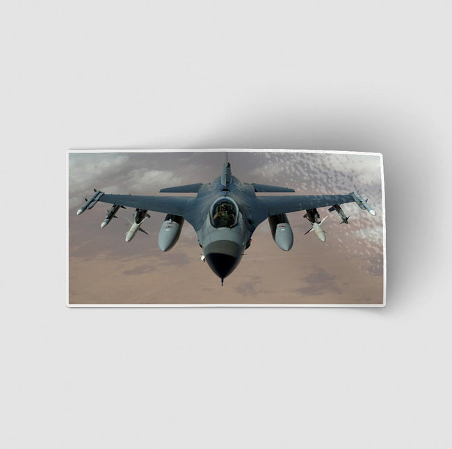 Crusing Fighting Falcon F16 Designed Stickers