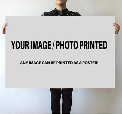 Custom Image & Photo Printed Posters