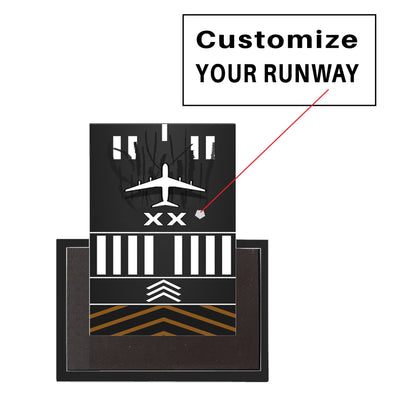 Customizable Runway Designed Magnet