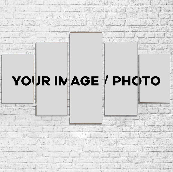 Your Custom Image / Photo Printed Multiple Canvas Poster