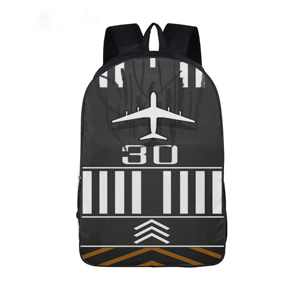 Customizable Runway Printed Backpack