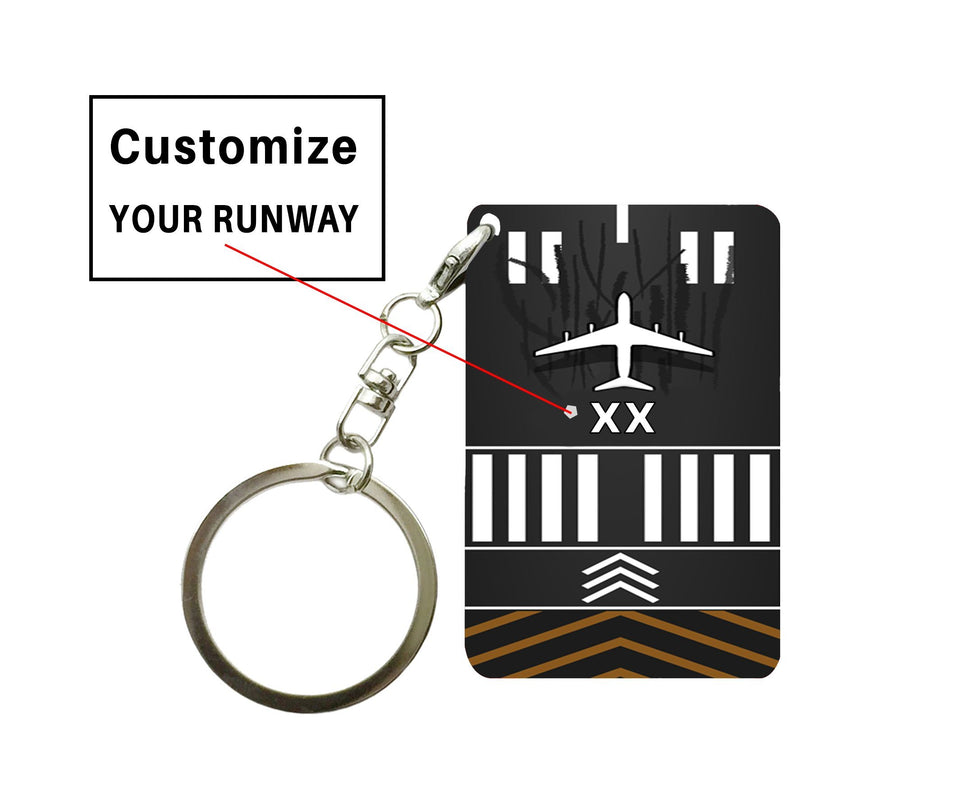 Customizable Runway Designed Key Chain Pilot Eyes Store