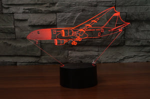 Beautiful Boeing 787 Dreamliner Designed 3D Lamp Aviation Shop