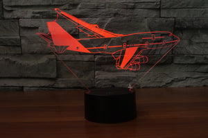 Turning Boeing 747 Designed 3D Lamp Aviation Shop