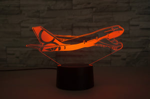 Boeing 747-8 Designed 3D Lamp Aviation Shop