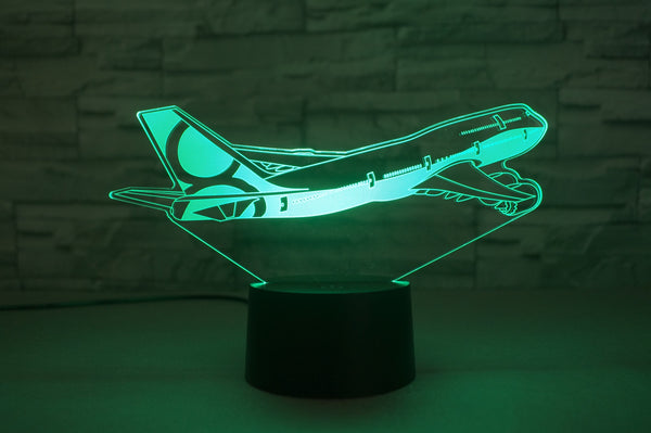 Boeing 747-8 Designed 3D Lamp