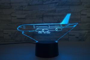 Airbus A340 From Side Designed 3D Lamp Aviation Shop