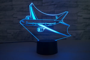 Cruising Airbus A330 Designed 3D Lamp Aviation Shop