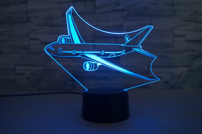 Cruising Airbus A330 Designed 3D Lamp