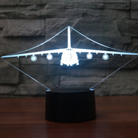 Antonov AN-124 Designed 3D Lamps Pilot Eyes Store