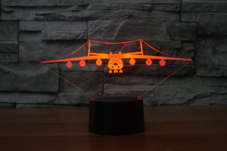 Antonov AN-225 Designed 3D Lamps Pilot Eyes Store