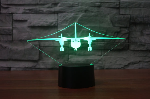 Antonov AN-26 Designed 3D Lamps