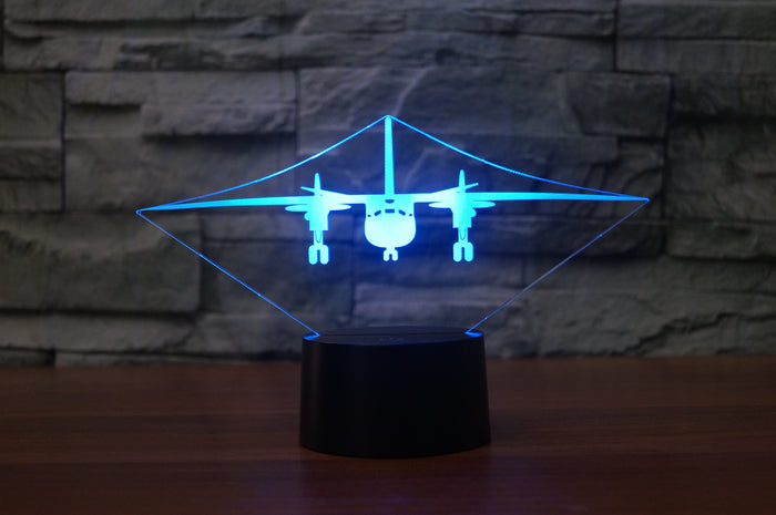Antonov AN-26 Designed 3D Lamps Pilot Eyes Store