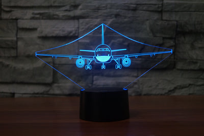 Face to Face with an Airbus A320 Designed 3D Lamps