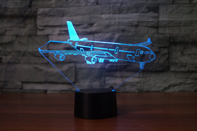 Taxiing Airbus A340 Designed 3D Lamps