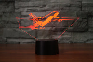 Departing Boeing 787 Designed 3D Lamps Pilot Eyes Store