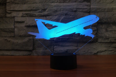 Crusing Airbus A320 Designed 3D Lamps