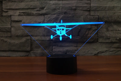 Cessna 172 Designed 3D Lamps