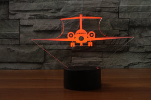Boeing 717 Designed 3D Lamps Pilot Eyes Store