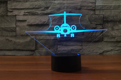 Boeing 717 Designed 3D Lamps