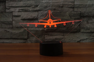 Boeing 707 Designed 3D Lamps Pilot Eyes Store