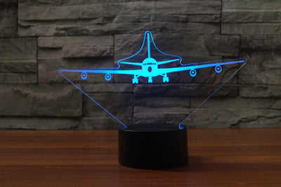 Boeing 707 Designed 3D Lamps