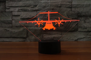 ATR-72 Designed 3D Lamps Pilot Eyes Store