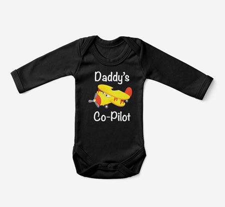Daddy's Co-Pilot (Propeller2) Designed Baby Bodysuits