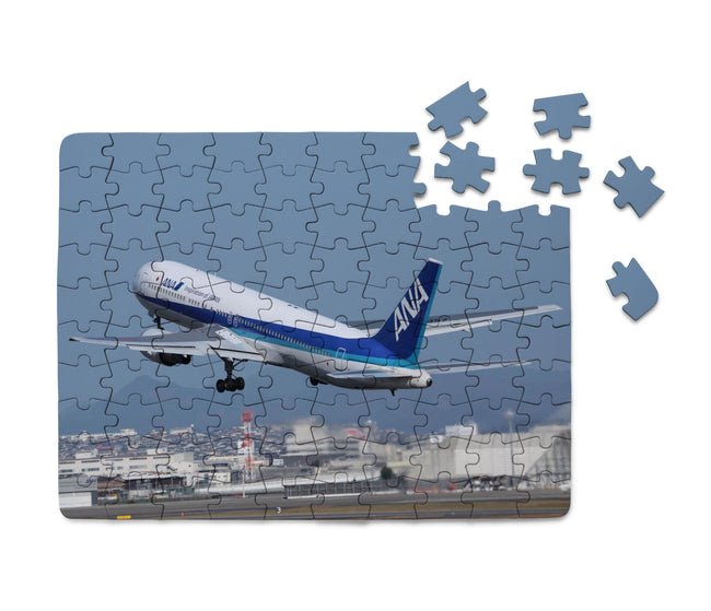 Departing ANA's Boeing 767 Printed Puzzles Aviation Shop