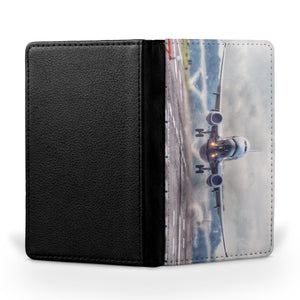 Departing Boeing 737 Printed Passport & Travel Cases