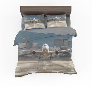 Departing Boeing 787 Dreamliner Designed Bedding Sets