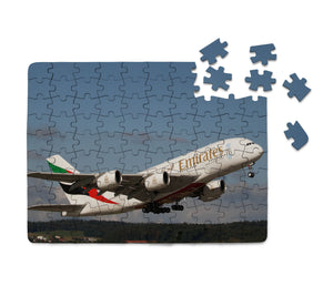 Departing Emirates A380 Printed Puzzles Aviation Shop