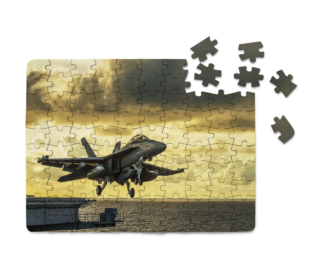 Departing Jet Aircraft Printed Puzzles Aviation Shop