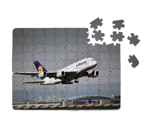 Departing Lufthansa's A380 Printed Puzzles Aviation Shop
