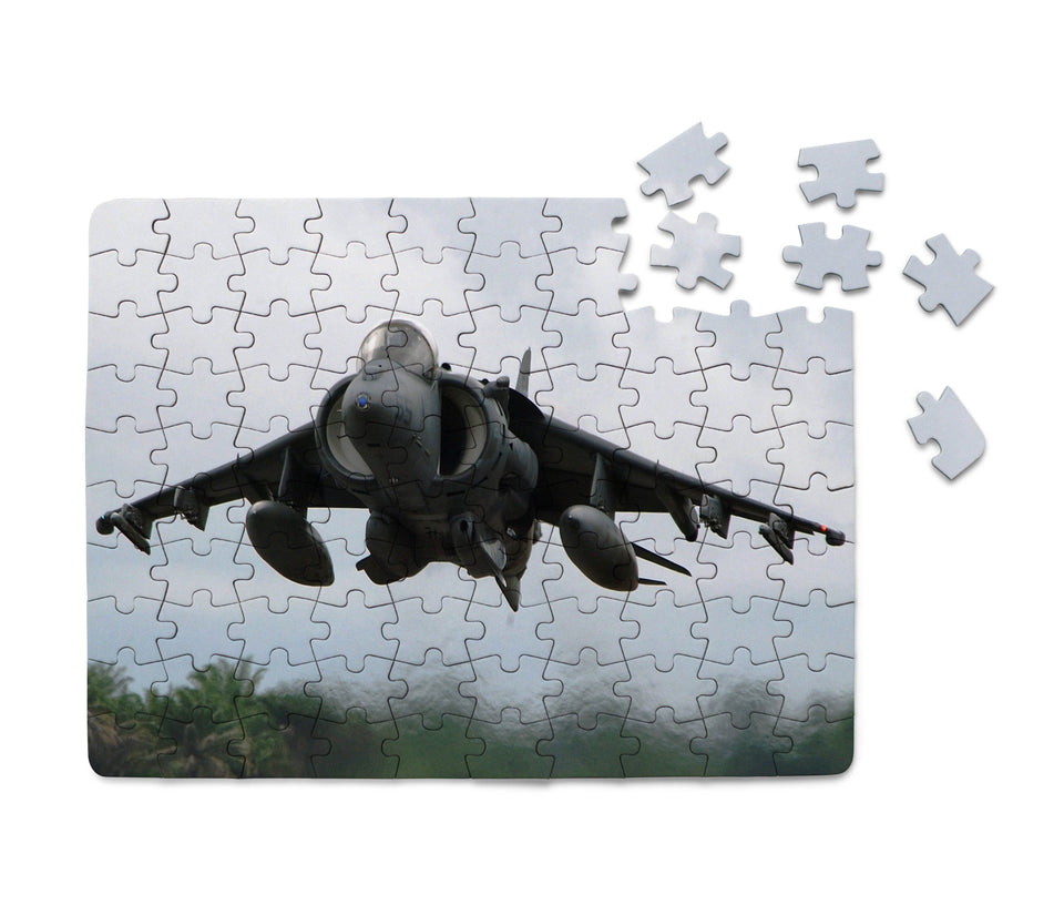 Departing Super Fighter Jet Printed Puzzles Aviation Shop