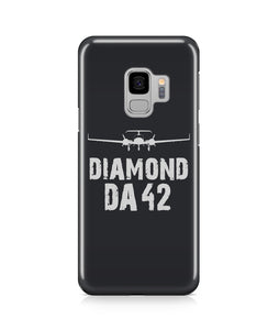 Diamond DA-42 Plane & Designed Samsung J Cases