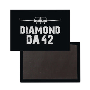 Diamond DA42 Plane & Designed Magnet Pilot Eyes Store