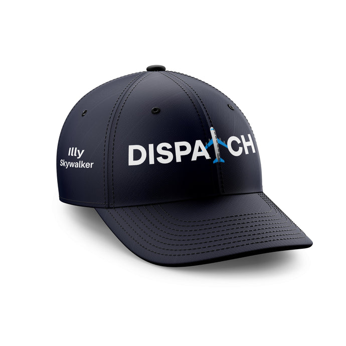 Customizable Name & Dispatch Embroidered Hats